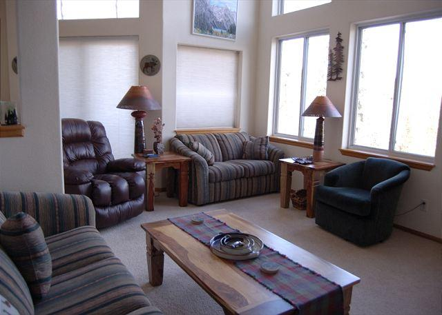 Living Room - Silvertrees #19 - Silverthorne - rentals