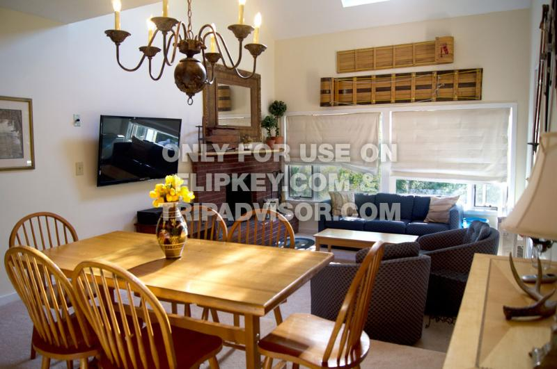 Condo Living Room @ Sugarbush Vermont - Large 3 Bedroom Condo at Sugarbush Resort Vermont - Warren - rentals