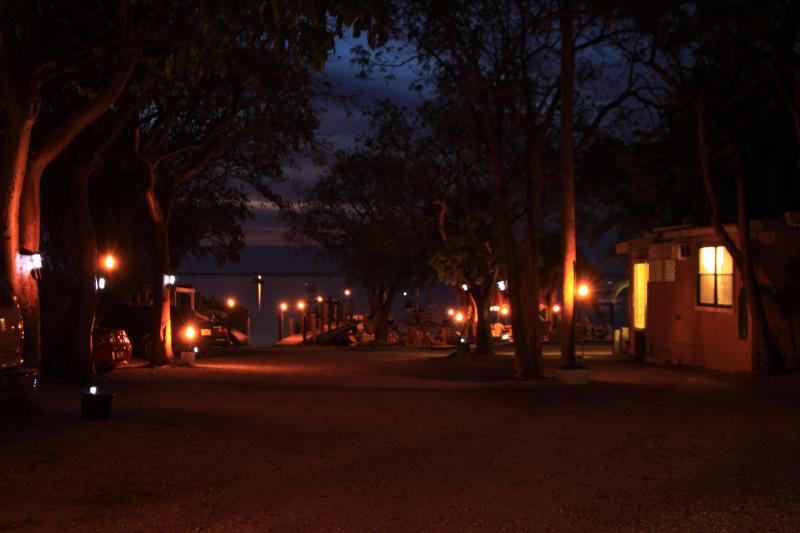 Key Lime at night - Key Largo Cottage, Kayaks/Snorkel/Fish/Sailing - Key Largo - rentals