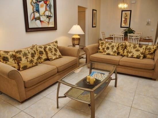 Living Area    - CC4P17537SCC 4 BR Cozy Pool Home Perfect for Orlando Vacation - Four Corners - rentals