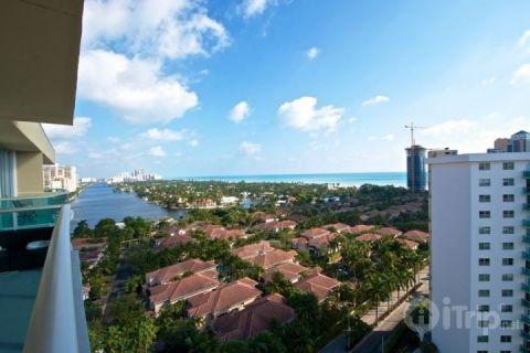 View from Balcony - Oceanview PH22 - Sunny Isles - rentals