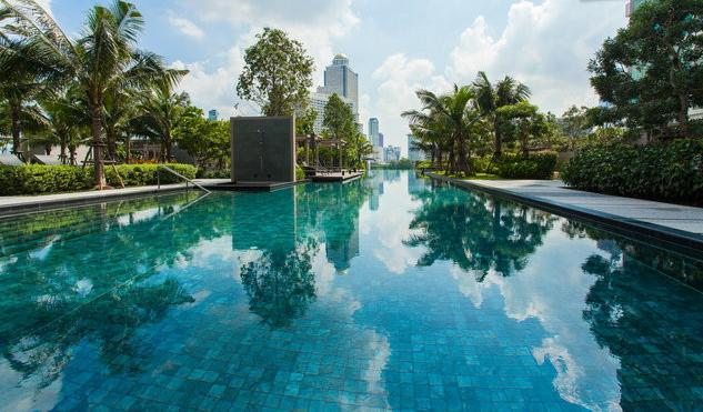 Infinity 5th Floor Pool - Bangkok 1 Bed & Sofa River Wifi 47fl Near Temples - Bangkok - rentals
