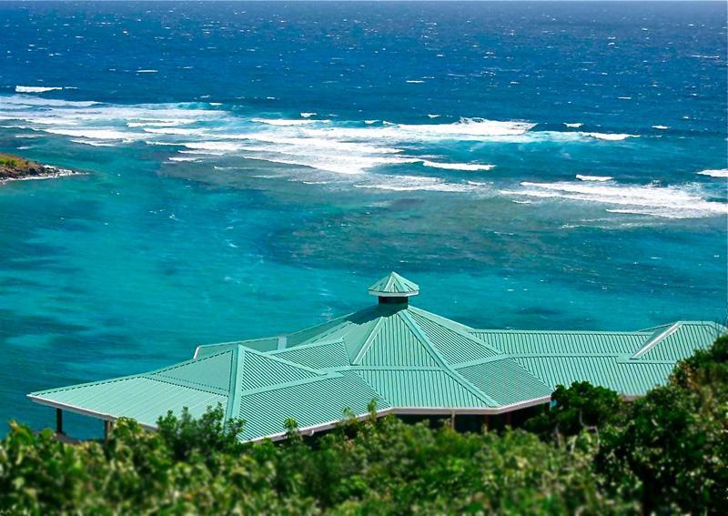 Reef House & view of off shore reef :-) - Reef House Bequia--Powerful Ocean Views! 2 or 5 BR - Crescent Beach - rentals