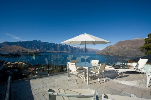 View from the deck - 7UP - Queenstown - rentals