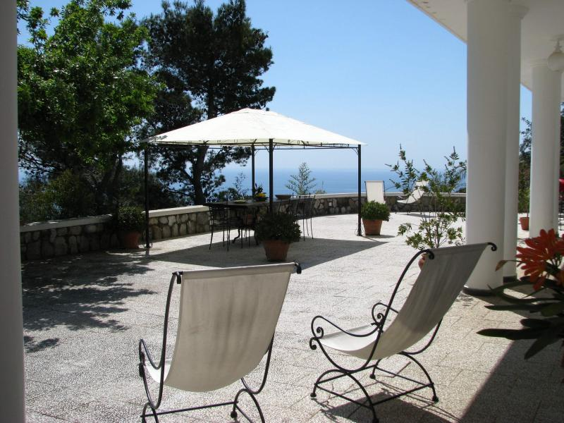 terrace at ground floor - Villa Luca amazing place ! - Piano di Sorrento - rentals