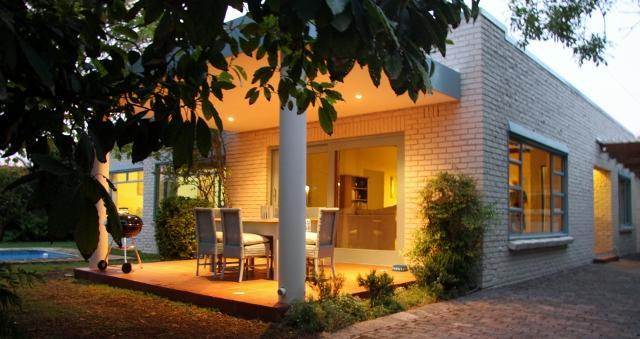 Th main house with all weather patio and weber barbecue  - Constantia Villa - Constantia - rentals