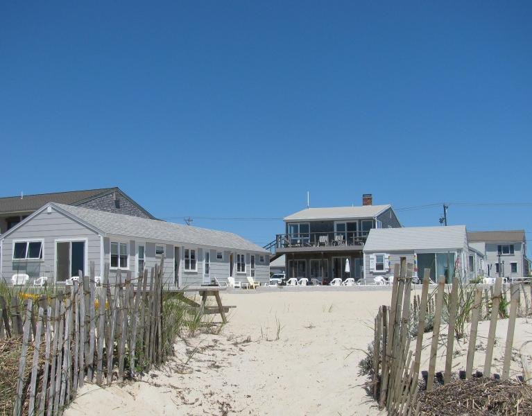 View from Bay - Cottage on Private Beach, 1 Mile to Provincetown - Truro - rentals