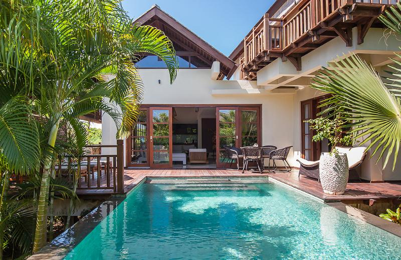 Villa Karma Manis' private pool with surrounded wooden deck - Villa Karma Manis with beach access,gym,spa. - Ungasan - rentals