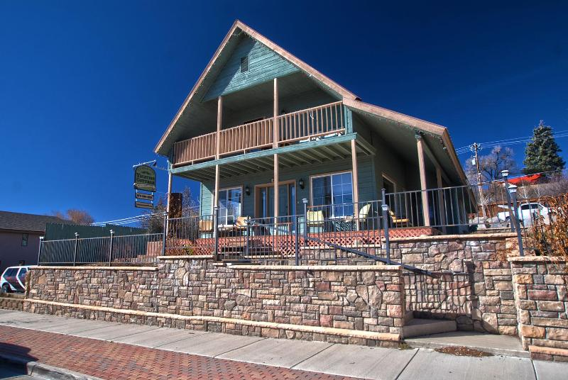front of house - Historic downtown Pagosa Springs home, sleeps 8 - Pagosa Springs - rentals