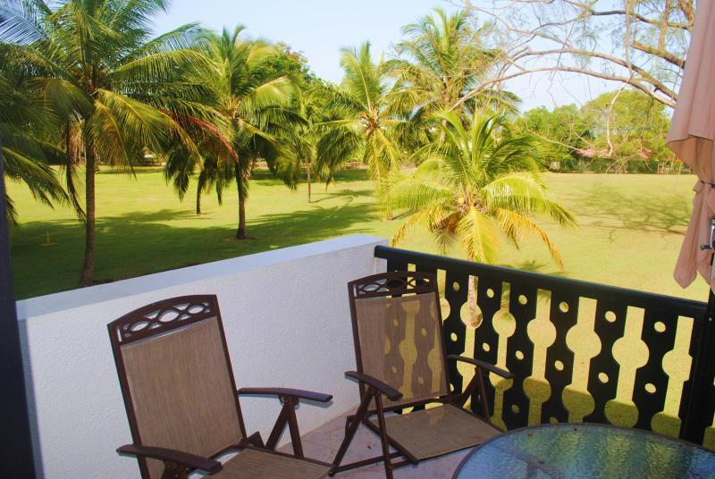Balcony overlooking the golf course - Studio Apt. 526 at Rockley Golf & Country Club - Rockley - rentals