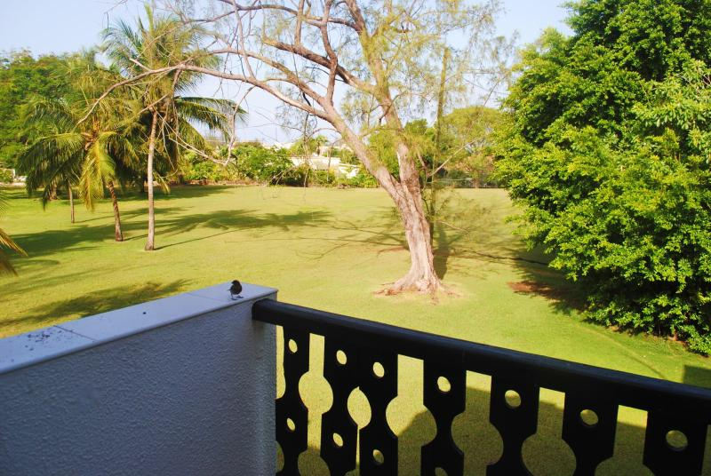 Balcony overlooking the golf course - Studio Apt. 528 at Rockley Golf & Country Club - Rockley - rentals