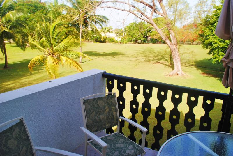 Balcony overlooking the golf course - Studio Apt. 527 at Rockley Golf & Country Club - Christ Church - rentals