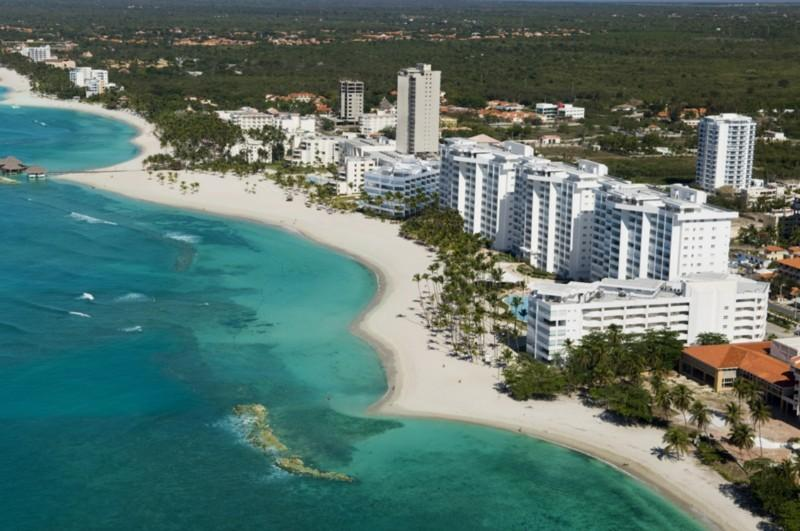 complex air view - Luxury and Relaxation 20 steps from the beach! - Juan Dolio - rentals