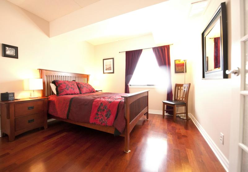 Bedroom  - Downtown Gem - Explore Niagara! - Niagara Falls - rentals