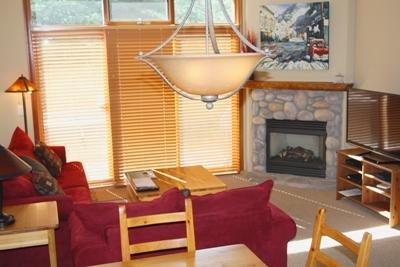 Living Room - McGillivray Creek Townhouses - 17 - Sun Peaks - rentals