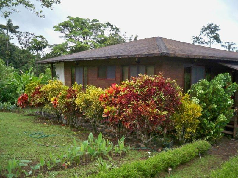 Mountain House Front View - La Fortuna/Arenal 2 Bedroom Vacation Rental House - La Fortuna de San Carlos - rentals
