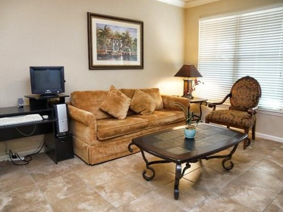 Living Area - BP2C903CP-811 2 BR Luxury Condo with Great Amenities - Davenport - rentals