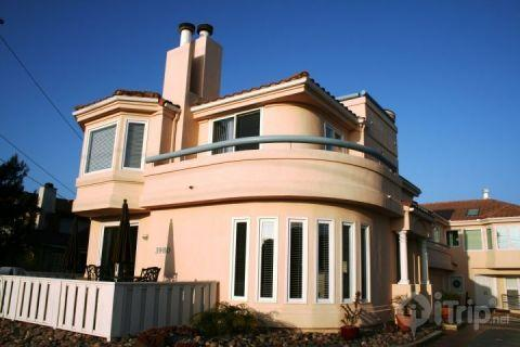 Outside of home - Chic Beach Home - Carlsbad - rentals