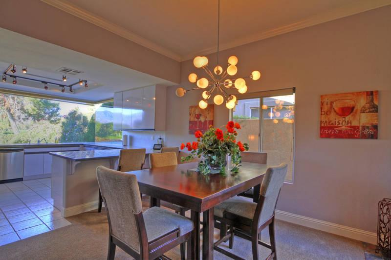 Dining Room Kitchen - 3 BR/2B Villa  Pete Dye Golf Course, Rancho Mirage - Rancho Mirage - rentals