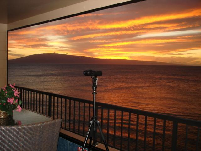 Another Sunset - TRUE BEACH FRONT 2015 is booking few left  2014 - Kaanapali - rentals