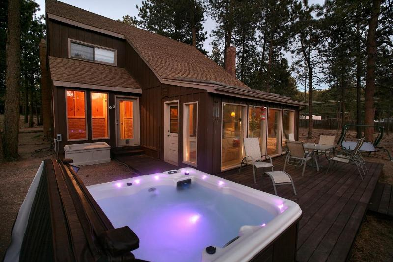 Relax in a brand new hot tub under the stars! - Woodland Park Haven - NEW HOT TUB / RENOVATED! - Woodland Park - rentals