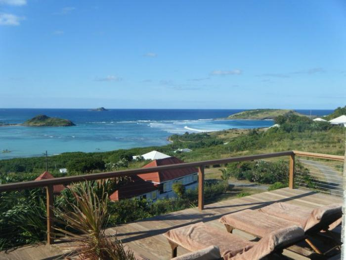 Casa Blanca at Petit Cul de Sac, St. Barth - Ocean View, Walk To Beach, Pool - Image 1 - Petit Cul de Sac - rentals