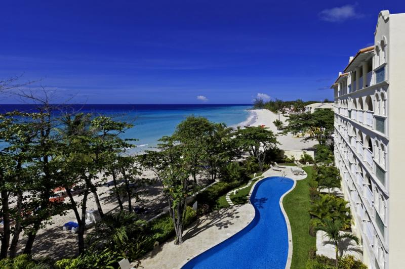 Sapphire Beach 407 at Dover Beach, Barbados - Beachfront, Gated Community, Communal Pool - Image 1 - Christ Church - rentals