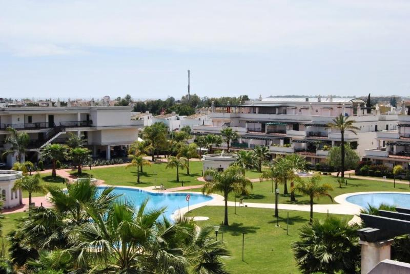 Terrace view - Tirrant 2 bedroom apartment close to Puerto Banus - Nueva Andalucia - rentals