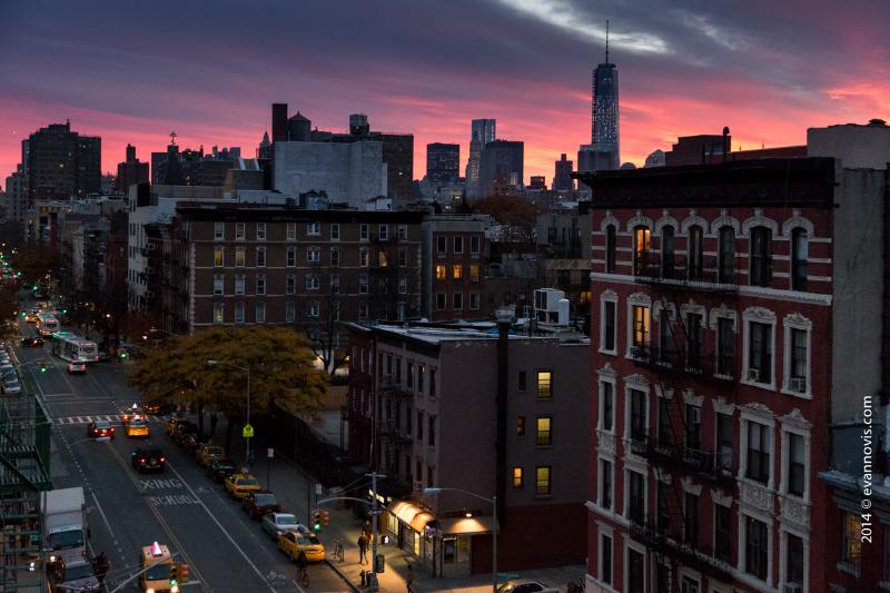View of Freedom Tower from Rooftop!! - Hip East Village Apartment!! - New York City - rentals