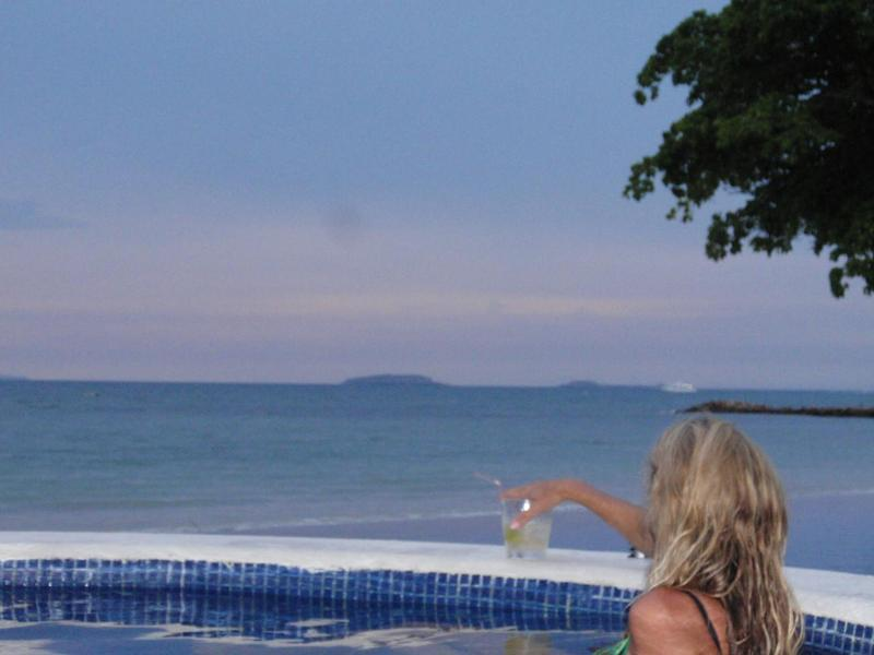 View of Mariettas Islands from hot tub - Gorgeous 2BR/3BA beachfront condo in Punta de Mita - Punta de Mita - rentals
