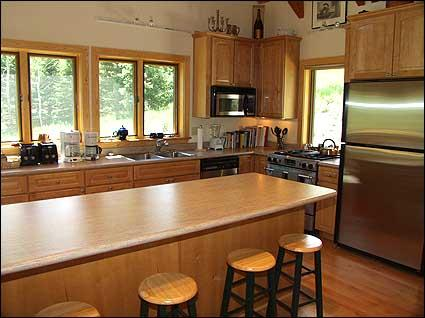 Large Gourmet kitchen with Jennaire and breakfast bar - Snowmass - New Home (2117) - Snowmass Village - rentals