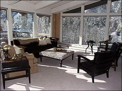 Bright, open Living Room - Comfortable, Quiet Home - Outstanding Views from Deck (5397) - Aspen - rentals