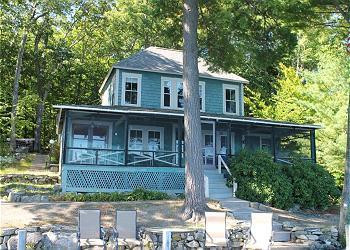 Charming Vintage Waterfront Vacation Rentals on Lake Winnipesaukee (CRE82W) - Image 1 - Meredith - rentals