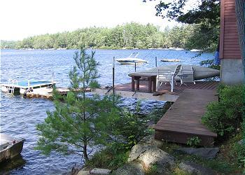 Pet-Friendly Waterfront Home on Lake Waukewan (REU96W) - Image 1 - New Hampton - rentals