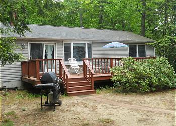 Waterfront Cottage on Lake Winnisquam (NOR10W) - Image 1 - Belmont - rentals