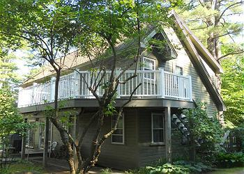 Court House Cottage at Oliver Lodge on Lake Winnipesaukee (1COURT) - Image 1 - Meredith - rentals