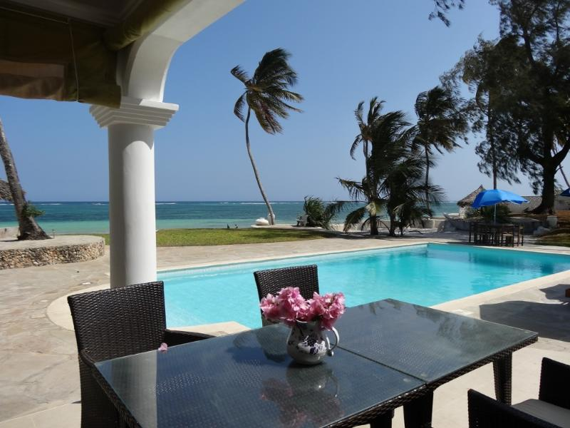 view from terrace - Baharini Pool cottage - New and Stunning property - Diani - rentals