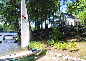 Private & Charming Waterfront Cottage on Lake Winnipesaukee (PRI26W) - Image 1 - Moultonborough - rentals