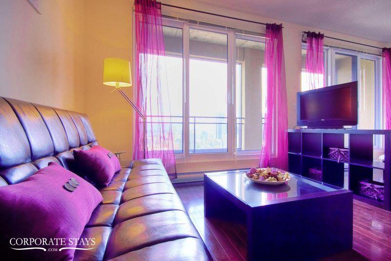 Pink Suite | Furnished Corporate Apt | Montreal - Image 1 - Montreal - rentals