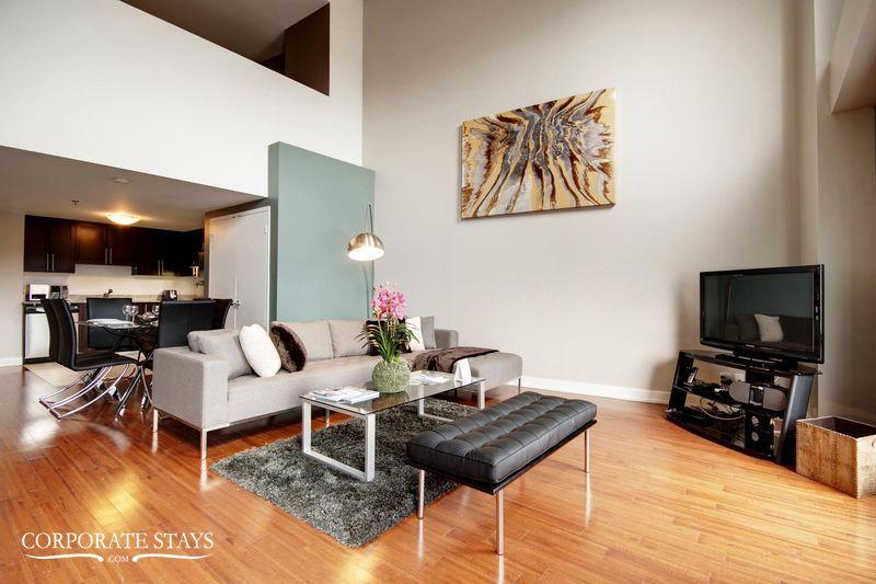 Montreal Eclipse 1BR Furnished Flat - Image 1 - Montreal - rentals