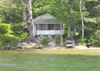 Vacation Rental So Close to Lake Winni...You Can Hear the Fish Jump (WIL99W) - Image 1 - Meredith - rentals