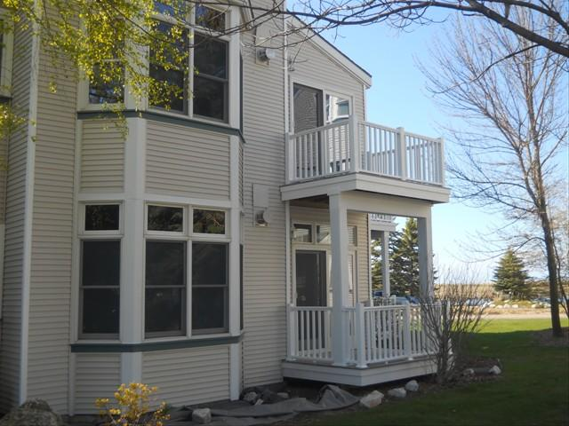 Two Story Condo with Water Views - Image 1 - Manistee - rentals