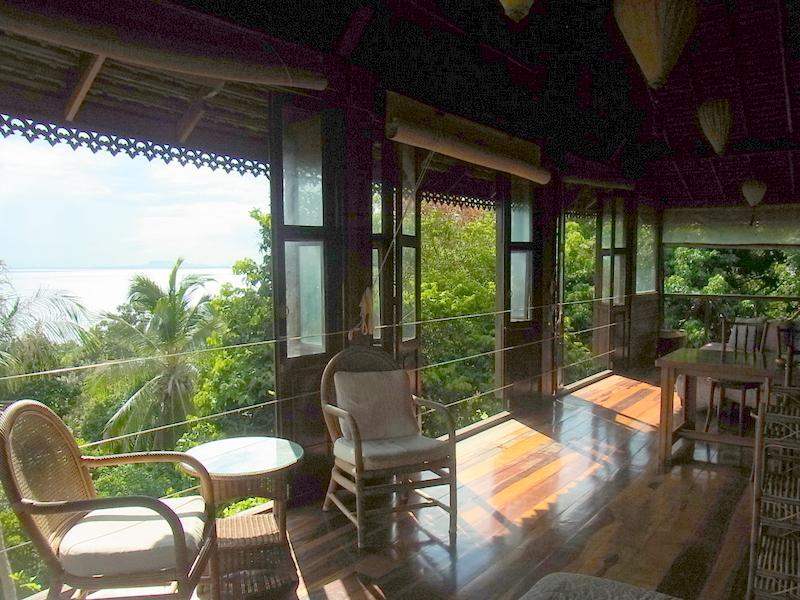 Seaview from balcony - Haadrin Seaview Villa - Koh Phangan - rentals