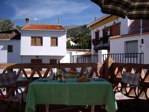 roof terrace and views - CASA MADRIGAL nice house for walkers - Durcal - rentals