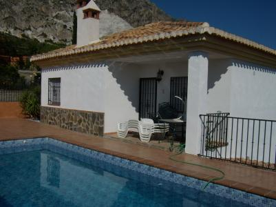 pool with terrace and outside diner - CASA MONTANA larg family villa with private pool - Durcal - rentals
