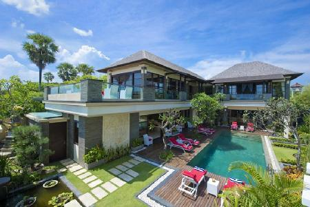 Beachfront Villa LeGa - Contemporary Design with Magnificient Views, Butler - Image 1 - Seminyak - rentals