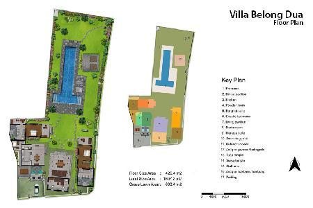 Villa Belong Dua - Charming villa close to Sesah beach with open sided living space & 20m pool - Image 1 - Seseh - rentals