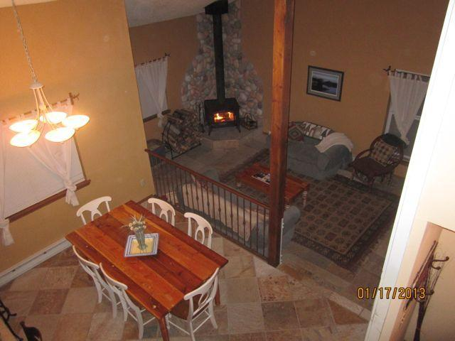 View from loft. - Trendy Townhome. Lake and Mountain Views. WiFi. - Pagosa Springs - rentals
