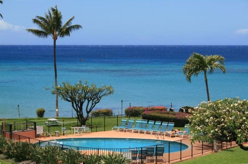Your view from the condo - Fabulous view, 2 king beds, wi-fi, free parking. - Kahana - rentals