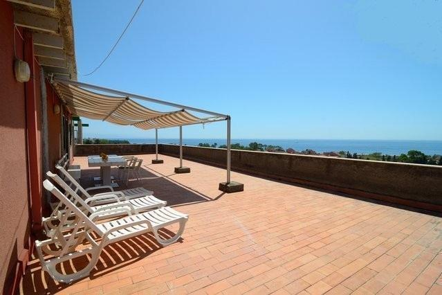 Terrace - Seafront apartment with a great view in residence! - Giardini Naxos - rentals